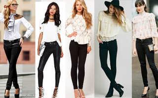 С чем носить кожаные брюки