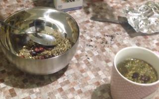 Состав монастырского чая в домашних условиях