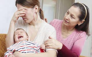 Послеродовая депрессия, симптомы и признаки