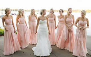 Платье для подружки невесты, идеи и фото