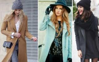 Какой головной убор носить с пальто, советы
