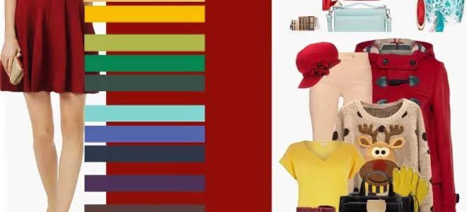 С чем сочетается красный цвет в одежде, фото и видео