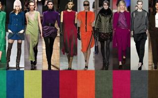 Какой цвет одежды в моде в 2018 году, фото