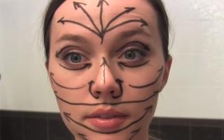 Как правильно наносить крем на лицо и шею, видео