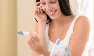 Может ли тест на беременность показать результат за неделю до месячных