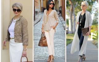 Как стильно одеваться женщине в 40 лет, фото