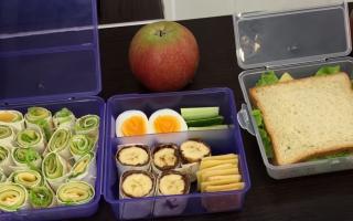 Что давать ребёнку в школу на обед, советы