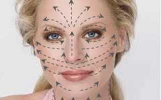 Лимфодренажный массаж лица от отёков под глазами