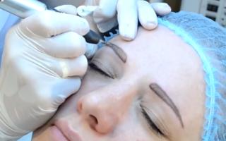 Как ухаживать за бровями после татуажа