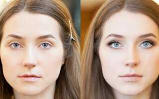Как увеличить глаза с помощью макияжа, дома