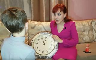 Как ребёнка научить понимать время по часам