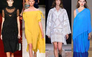 Модные тенденции весны 2018 года в женской одежде