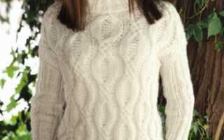 Как связать свитер спицами для начинающих, схемы с описанием