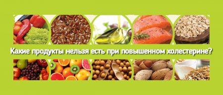 Какие продукты нельзя есть при повышенном холестерине?