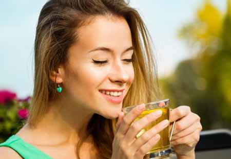 Чай с имбирём, лимоном и мёдом, рецепт для похудения