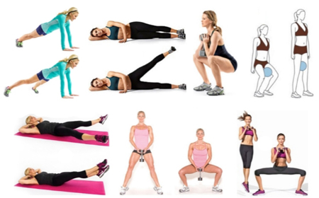 физические упражнения для коррекции ляшек