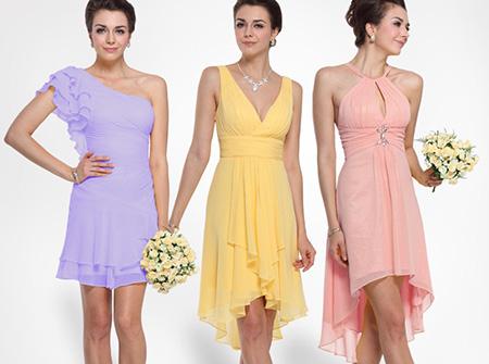 каким должно быть платье для подружки невесты
