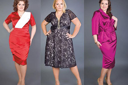 нарядные платья для женщин больших размеров