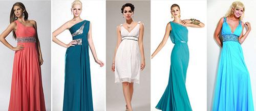Вечерние платья для фигуры прямоугольник