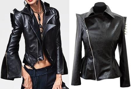 Кожаные куртки весна 2018 года, модные тенденции