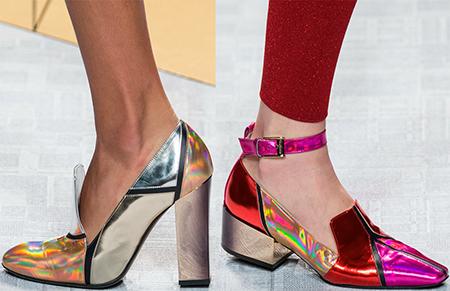 Модные тенденции в обуви весна-лето 2018