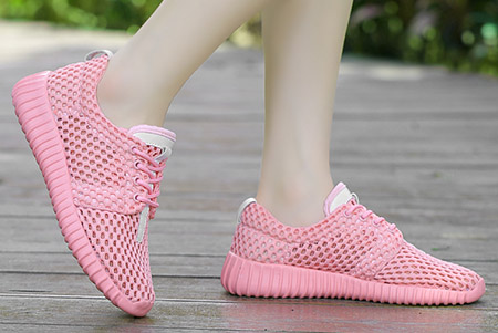 модная обувь из сетки