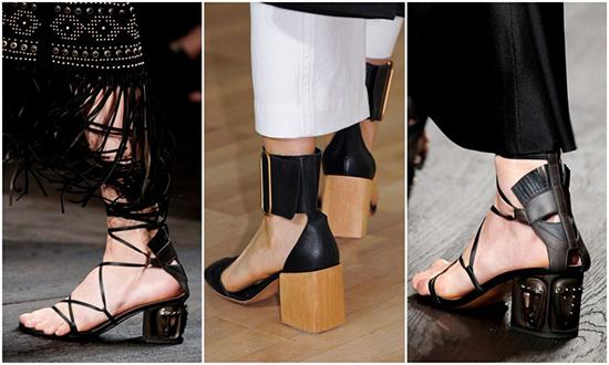 обувь с квадратным каблуком