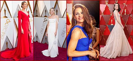 Наряды звёзд на премии Оскар 2018