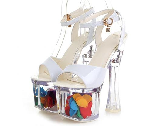 обувь с каблуком «катушкой»