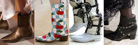 модная обувь в ковбойском стиле