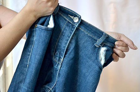 Как растянуть джинсы в ширину