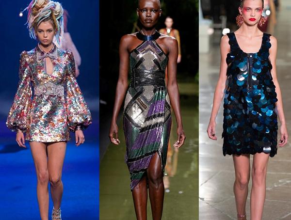 стиль диско в платьях