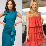 Модные тенденции платья 2018 года фото
