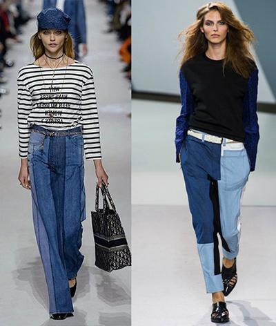 Модные джинсы в 2018 году