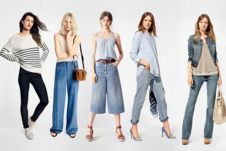 Какие джинсы модные в 2018 году