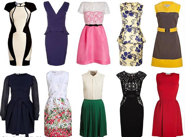 Модные, вечерние летние платья на свадьбу