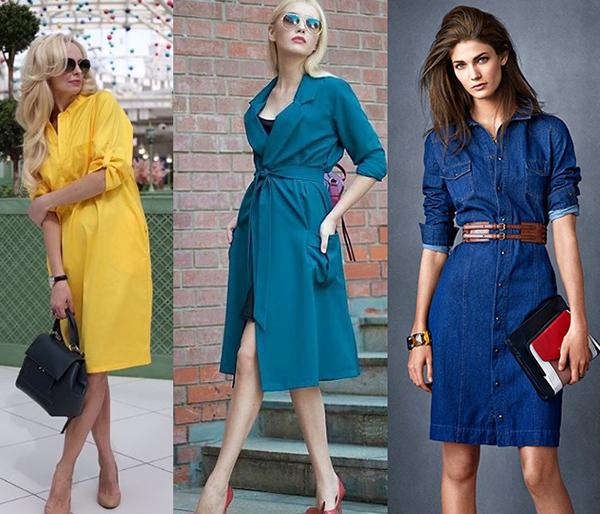 модные летние платья-рубашки 2018 фото новинки