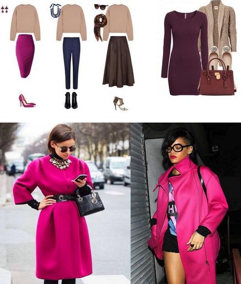 цвет одежды в моде