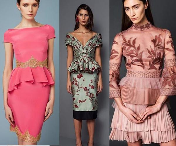 фасоны коктейльных платьев