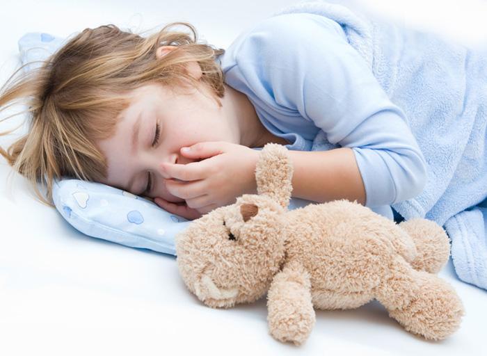 ребёнок скрипит зубами во сне