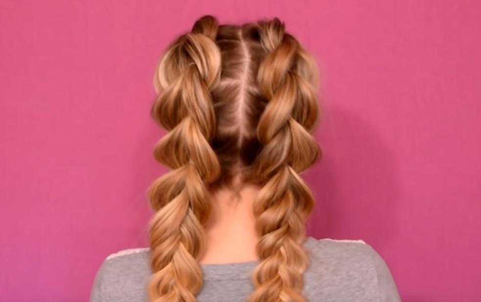 Как заплести французскую косу самой себе