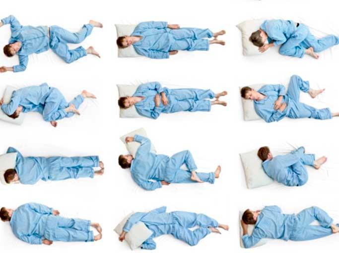 Позы во сне значение, как влияют на жизнь и здоровье
